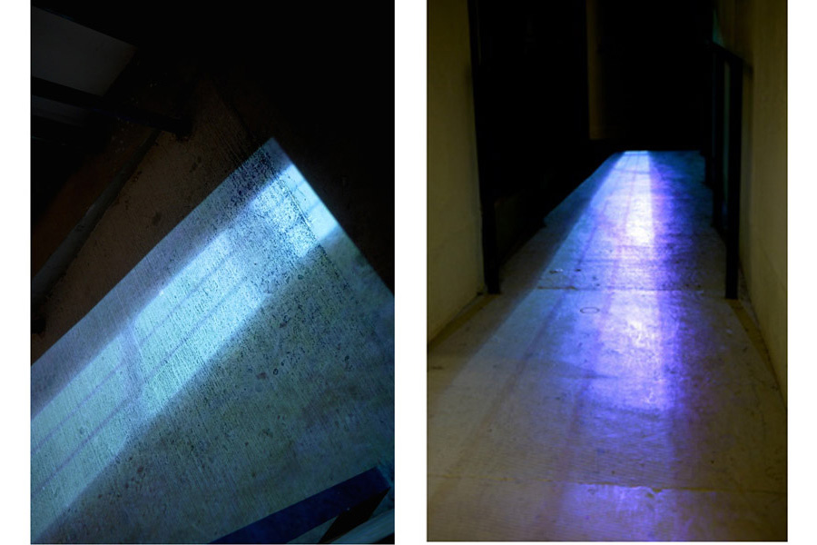 still projection, site specific