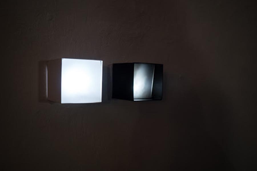 light boxes, 10x10cm, mixed media